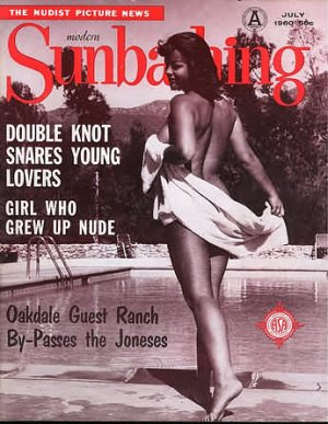 Modern Sunbathing  magazine. July,1960