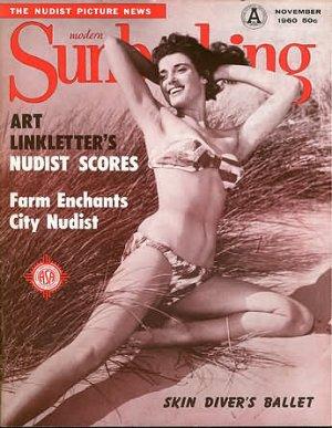 Modern Sunbathing  magazine. November,1960