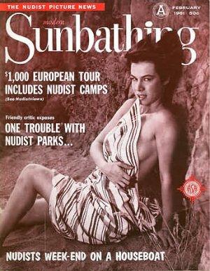 Modern Sunbathing  magazine. February,1961