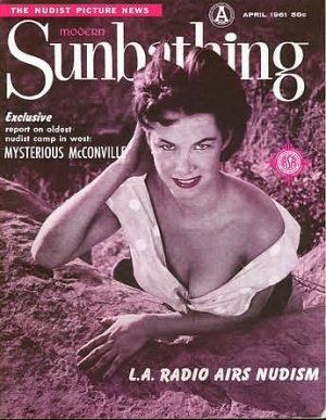 Modern Sunbathing  magazine. April,1961