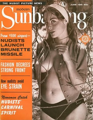 Modern Sunbathing  magazine. August,1961