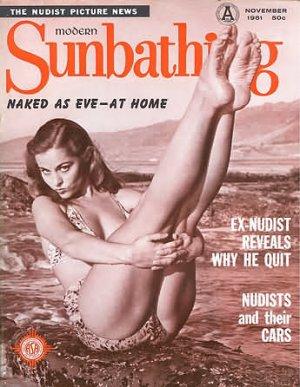 Modern Sunbathing  magazine. November,1961