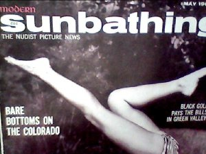 Modern Sunbathing magazine. May,1962