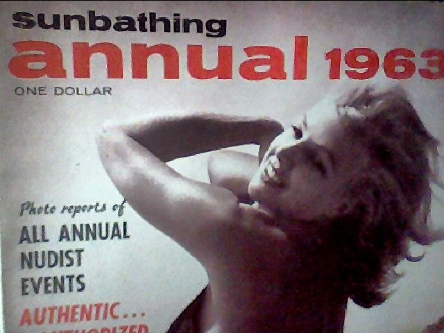 Modern Sunbathing magazine. ANNUAL,1963