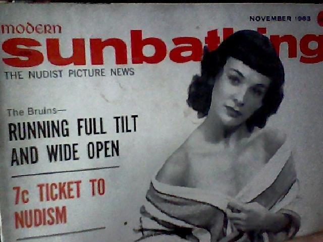 Modern Sunbathing magazine. November,1963