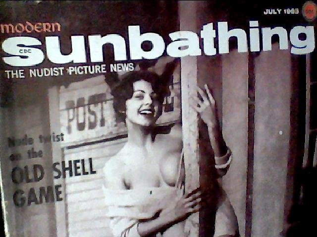 Modern Sunbathing magazine. July,1963