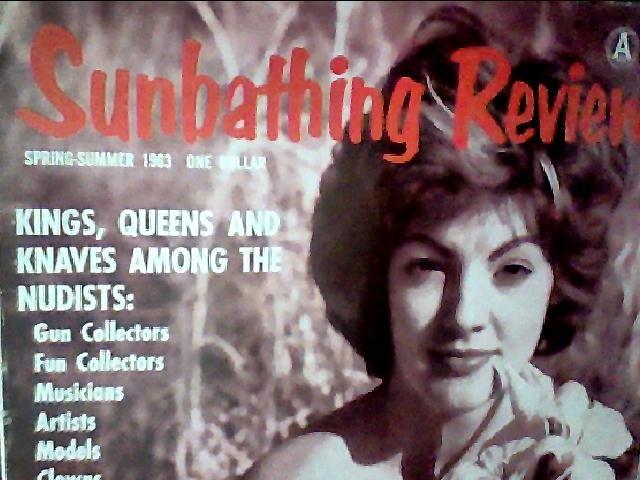 Sunbathing Review magazine. Spring-summer 1963