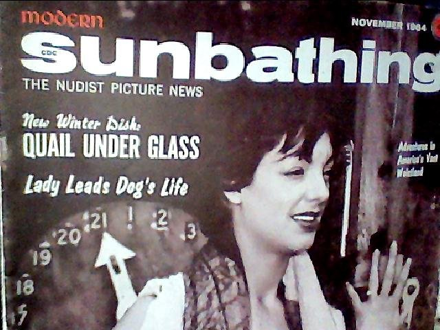 Modern Sunbathing magazine.November,1964