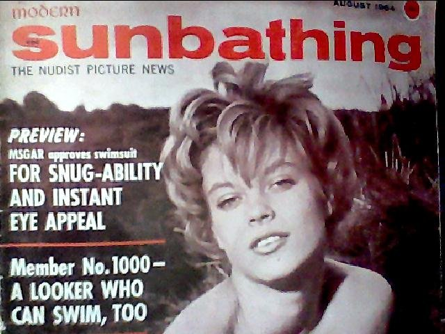 Modern Sunbathing magazine.August,1964