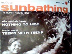 Modern Sunbathing magazine.April,1964