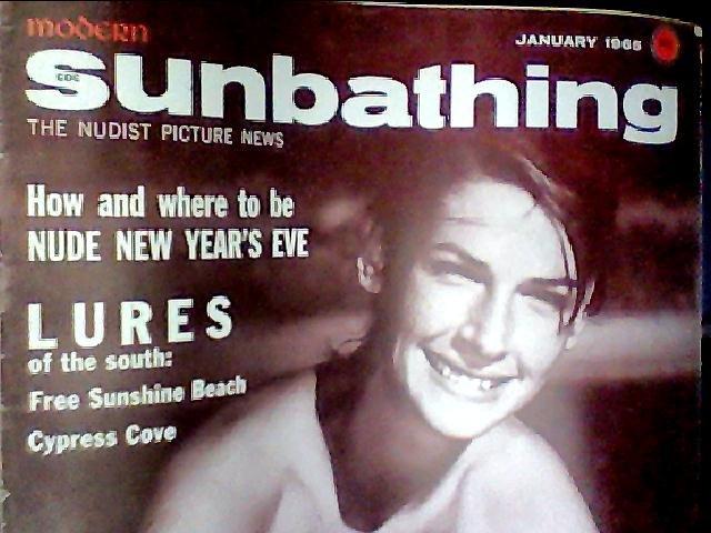 Modern Sunbathing magazine.January,1965