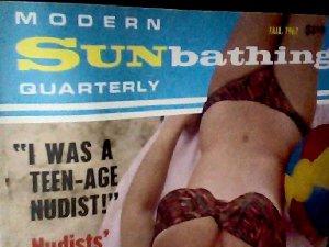 Modern Sunbathing magazine.Quarterly,fall1967