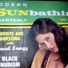 Modern Sunbathing magazine.Quarterly,summer 1968