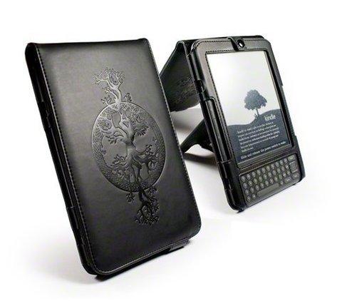 Tuff-Luv Apocalypse Series Case & Stand Amazon Kindle 3 - Tree of Life