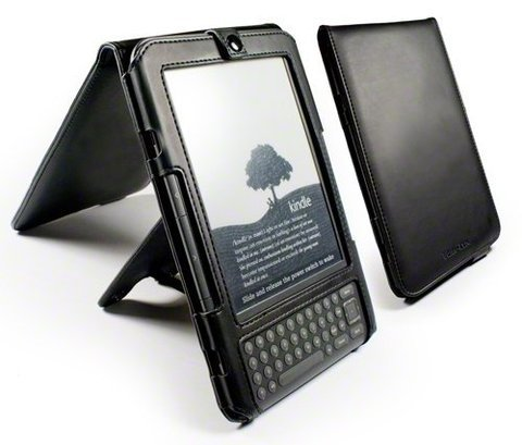 Tuff-Luv Multi-View� Leather Case & Stand for Amazon Kindle 3