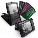 Tuff-Luv Tri-Axis™ Leather Case & Stand for Amazon Kindle 3 - Black