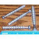 45mm Steel Dowel Pins for Cam Lock Fasteners Furniture Connectors Wood Thread (Set of 4)