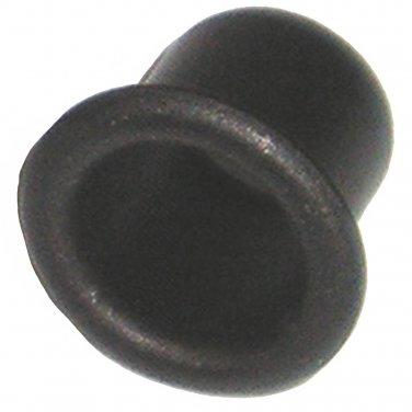 5mm Black Sleeve Grommet for Shelf Support Pin - Rest - Peg (20 Pack)