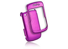 New Azura Accessories Blackberry 85XX Cell Phone Purple Rain Drop Protection Shield