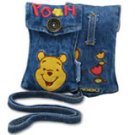 Winnie The Pooh Cell Phone MP3 iPod Jean Pouch