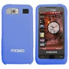New Blue Samsung i910 Cell Phone Accessory Silicon Skin Protector Mobo USA