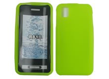 New Green R810 Samsung Cell Phone Accessory Silicon Skin Protector Mobo USA