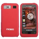 New Red Samsung Cell Phone i910 Silicon Protector