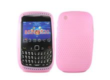 New Pro-Tech Pink Blackberry Curve Cell Phone Accessory 8520 / BB8520 Skin Protector