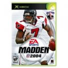 Madden NFL 2004 Football Sport Xbox 360 Microsoft Brand EA Sports Video Game ASIN: B00009IM2C