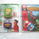 LeapFrog LeapPad The Lost Dinosaur Science 15 Interactive Cards BOOK & CARTRIDGE