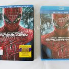 NEW The Amazing Spider-Man Blue-Ray DVD Ultraviolet