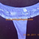 1XL tulle&silk purple  thong DISCOUNTS available