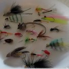 Trout Fly Fishing,  20 pc lot Assortment