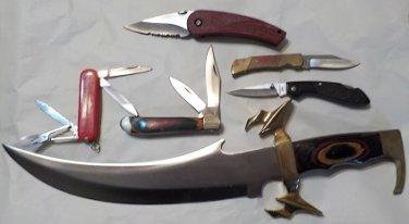 Lot #1759 5,   6 Pc Knife Set