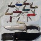 Lot #1734 10  /  11 Pc Knife Set