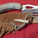 #35  /  Mule Deer Crown Knife