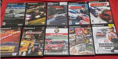 Used Playstation 2 Racing Game lot A