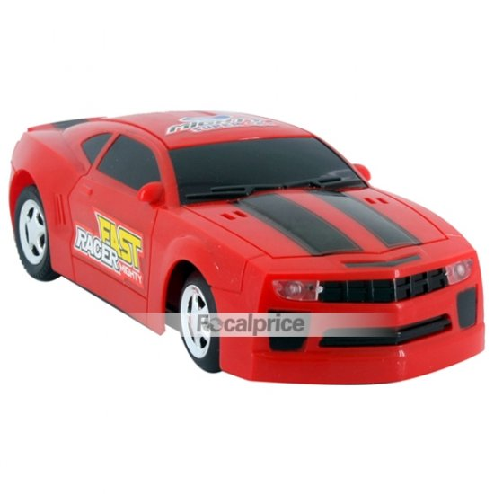 Super Speed Sound Activated Battery Operated Flashing Top Light with IC Sound Racing Car (Red)