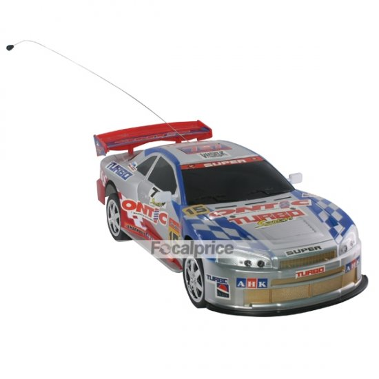 737-3348 Radio Control Four-Wheel Drive R/C Racing Car Model (Blue)