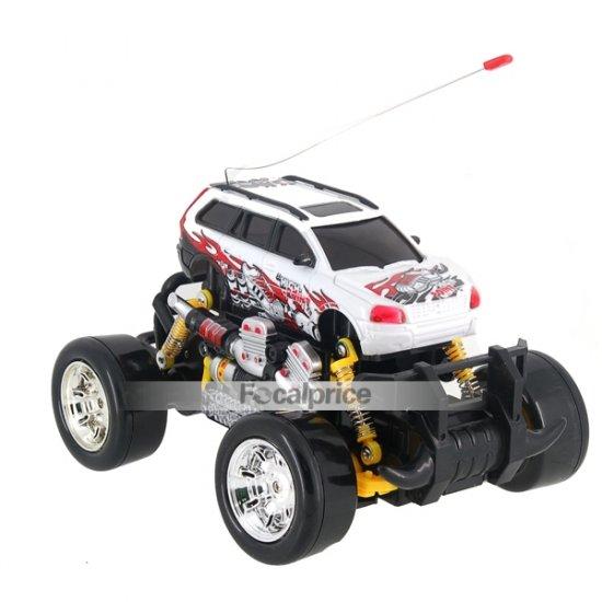 333-732B 1:18 RC 4WD SUV Drifting Car Toy (White)