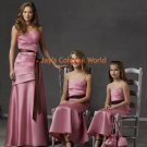 V-neckline Custom-made Bridesmaid Dress/Evening Dress/Home Coming