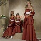 A-line Straight Neckline Strapless Bridesmaid Dress/Evening Dress/Home Coming
