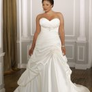 A-line Sweetheart Plus Size Wedding Dress 2012
