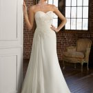 A-line Sweetheart Chiffon 2012 Wedding Dress