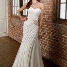 Straight Sweetheart Chiffon 2012 Wedding Dress