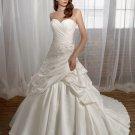 A-line Sweetheart Strapless 2012 Wedding Dress