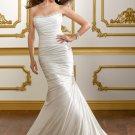 Mermaid Corset Lace-up Back 2012 Wedding Dress