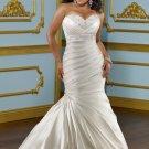 Mermaid Sweetheart 2012 Plus Size Wedding Dress