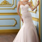 Corset Sweetheart Beading Appliques 2012 Wedding Dress