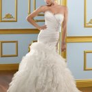 Ruffled Organza Corset 2012 Wedding Dress